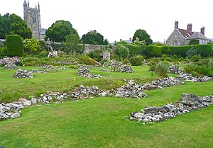 Shaftesbury - The ruins of Shaftesbury Abbey