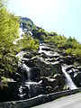 Ruisseau de Pouyboucou Gèdre cascade D176.JPG