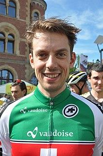 Cyrille Thièry Swiss cyclist