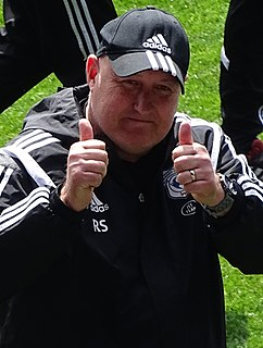 Russell Slade English football manager