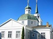 Russian Orthodox church in Sitka, Alaska.