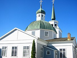 Russian Orthodox church in present-day Sitka.