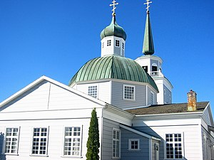 Sitka, Alaska - Saint Michael's Russian Orthodox Cathedral in Sitka