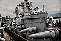 Russian guided missile cruiser Varyag and tanker Irkut.jpg