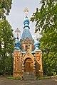 Russischer Kirchhof B-Tegel Friedhofskapelle 06-2014.jpg