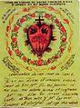 Rysunek NSPJ i rękopis Aktu Poświęcenia się Mu św. Małgorzaty Marii Alacoque.jpg