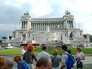 Piazza Venezia mit Monumento Vittorio Emmanuele II