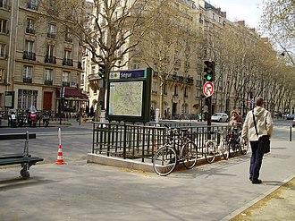 Ségur (Paris Métro) - Image: Ségur metro 01
