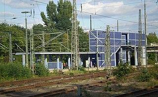 Hannover-Nordstadt station railway station in Hannover-Nordstadt, Germany