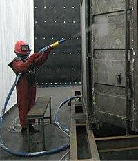 Что такое пескоструйная обработка металла