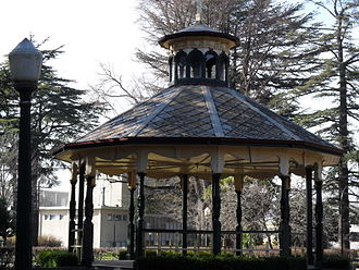 Bathurst, New South Wales - Rotunda at Machattie Park, Bathurst NSW