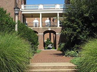 Sweet Briar College - Arcade between Pannell Art Gallery and Randolph Hall