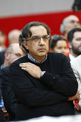 Sergio Marchionne - Marchionne wearing his classic black woolen sweater