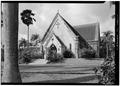 SOUTH (FRONT) ELEVATION - Royal Mausoleum, 2261 Nuuanu Avenue, Honolulu, Honolulu County, HI HABS HI,2-HONLU,25-1.tif