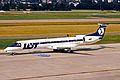 SP-LGC ERJ.145MP LOT Polish Airlines ZRH 19JUN03 (8539257568).jpg