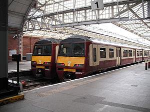 British Rail Class 320 - Image: SPT320s Helensburgh