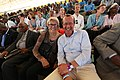SRSG Martin Kobler and Jeremy Gilley's mother - Wendy - enjoying a Peace One Day concert (21439912969).jpg