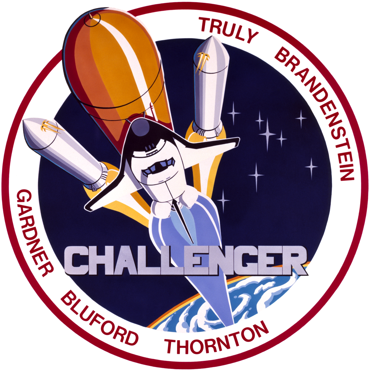 space shuttle challenger logo - photo #6