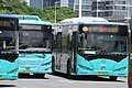 SZ 深圳 Shenzhen Bay Port Terminal 深圳灣口岸 Nanshan bus Stop July 2017 IX1 m474 BYD.jpg