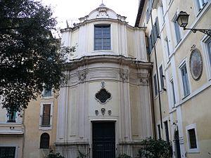 Filippo Raguzzini - The façade of Raguzzini's S. Maria della Quercia