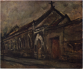 SaekiYūzō-1925-Church.png