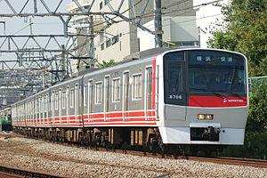 Sotetsu 8000 series - Set 8706 in original livery in October 2008