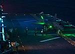 Sailors refuel an F-35B Lightning II joint strike fighter (35144706964).jpg