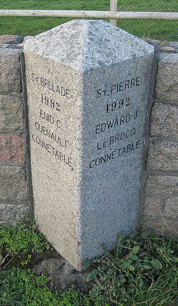 File:Saint Brelade Saint Peter boundary stone Jersey 1992.jpg