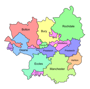 Salford Hundred - Salfordshire encompassed several parishes
