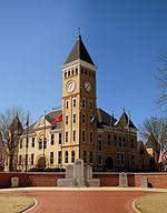 Saline County Courthouse, Sevier & Main, Benton, AR.JPG