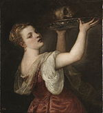 Salome with the head of John the Baptist (Titian).jpg