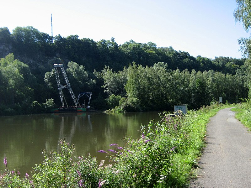 Sambre, west of Charleroi