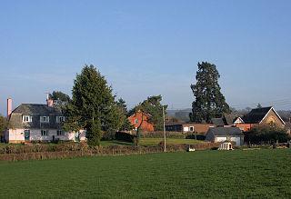 Sampford Arundel village in the United Kingdom