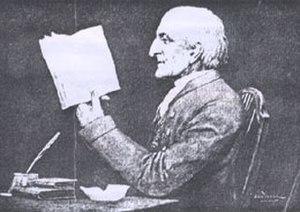 Samuel Fox (1781–1868) - sketch of Fox by his housekeeper (Louisa Maria Woods)