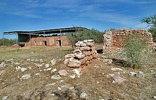 Mission San Cayetano de Calabazas place in Arizona listed on National Register of Historic Places