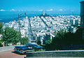 San Francisco - Telegraph Hill from Lombard Street (1959).jpg