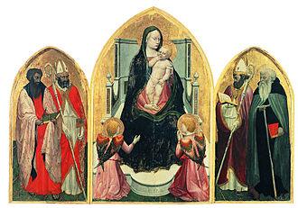 Masaccio - San Giovenale Triptych (1422)