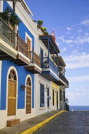 English: San Juan, Puerto Rico.