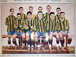 Club San Fernando - The San Fernando football team of 1926.