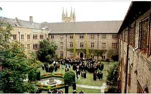 Sancta Sophia College, University of Sydney - The College's Quadrangle