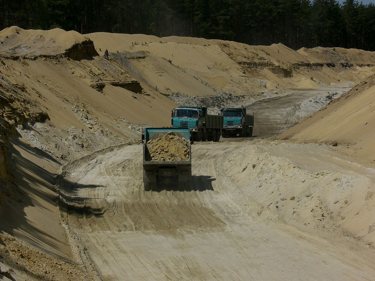 Strip mining in wisconsin