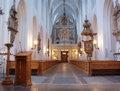 Sankt Petri kyrka, Malmö, interior from altar.jpg