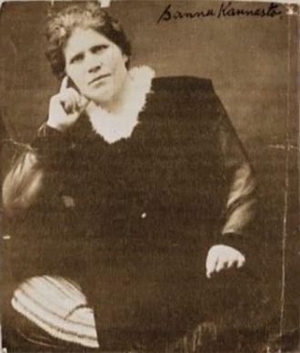 Sanna Kannasto - Sanna Kannasto in the 1920s