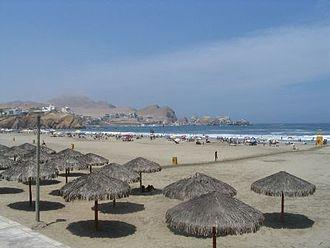 Santa María del Mar District (Peru) - Santa María beach