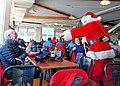 Santa schmoozing in the Roundhouse (31633993611).jpg