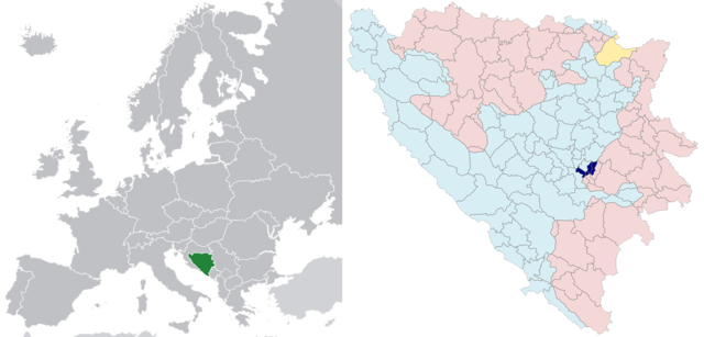 FileSarajevo in Bosnia and Herzegovina and Europepng Wikimedia