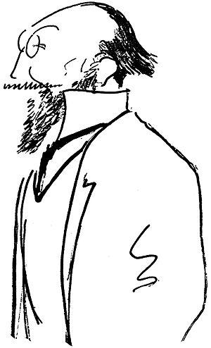La belle excentrique - Erik Satie by Alfred Frueh