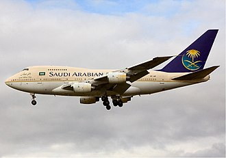 Boeing 747SP - Saudi Royal Flight Boeing 747 SP