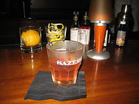 photo of Sazerac cocktail drink