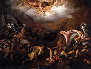 Andrea Schiavone - Conversion of St. Paul.